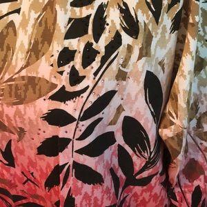 Alia Tops - Alia 1X Floral Long Sleeve Embellished Blouse